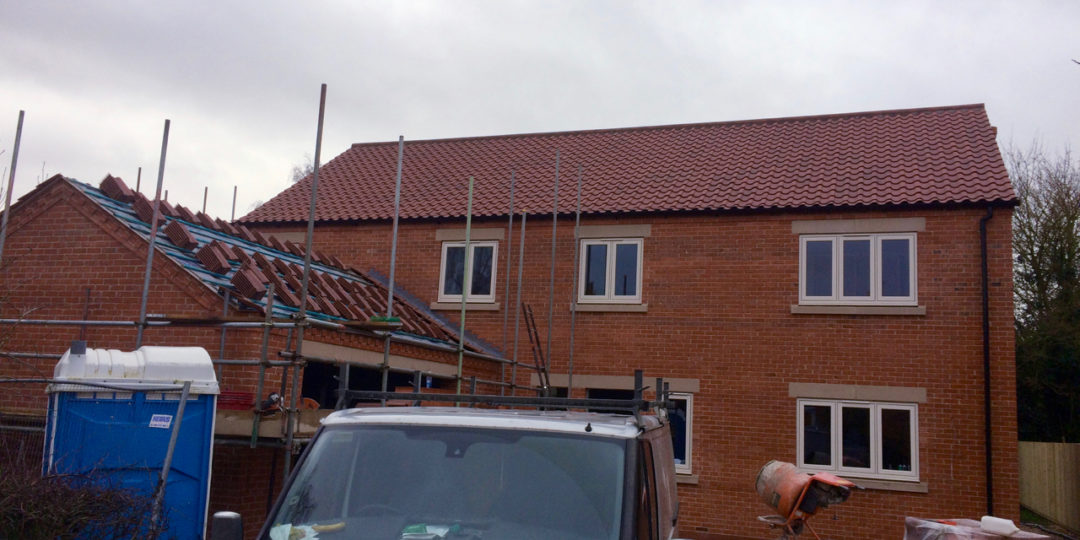 Lincoln Clay Pan Tiles, Stunning Detatched House